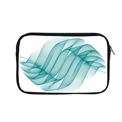 Background Light Glow Blue Apple Macbook Pro 13  Zipper Case