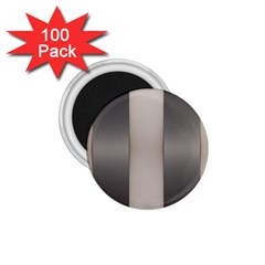 Wall Steel Ivory Creative Texture 1 75  Magnets (100 Pack)