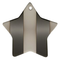 Wall Steel Ivory Creative Texture Star Ornament (two Sides)