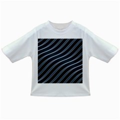 Metal Steel Stripped Creative Infant/toddler T Shirts