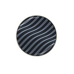 Metal Steel Stripped Creative Hat Clip Ball Marker (4 Pack)