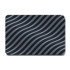 Metal Steel Stripped Creative Small Doormat