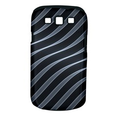 Metal Steel Stripped Creative Samsung Galaxy S Iii Classic Hardshell Case (pc+silicone)