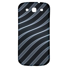 Metal Steel Stripped Creative Samsung Galaxy S3 S Iii Classic Hardshell Back Case
