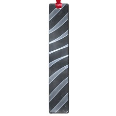 Metal Steel Stripped Creative Large Book Marks