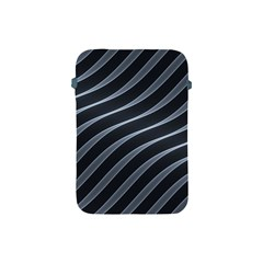 Metal Steel Stripped Creative Apple Ipad Mini Protective Soft Cases