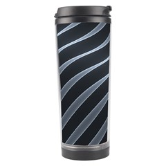 Metal Steel Stripped Creative Travel Tumbler