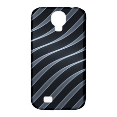 Metal Steel Stripped Creative Samsung Galaxy S4 Classic Hardshell Case (pc+silicone)