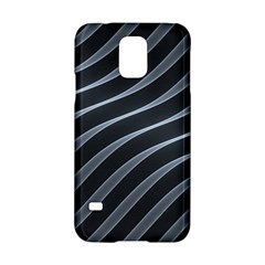 Metal Steel Stripped Creative Samsung Galaxy S5 Hardshell Case