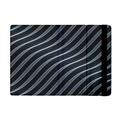 Metal Steel Stripped Creative Ipad Mini 2 Flip Cases