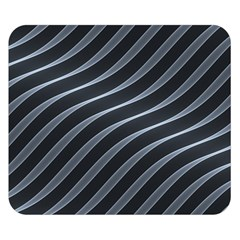 Metal Steel Stripped Creative Double Sided Flano Blanket (small)