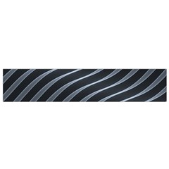 Metal Steel Stripped Creative Small Flano Scarf