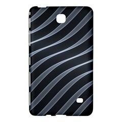 Metal Steel Stripped Creative Samsung Galaxy Tab 4 (8 ) Hardshell Case