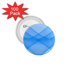 Background Light Glow Blue 1 75  Buttons (100 Pack)