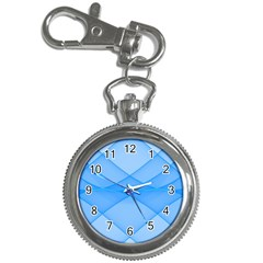 Background Light Glow Blue Key Chain Watches