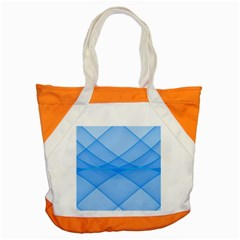 Background Light Glow Blue Accent Tote Bag