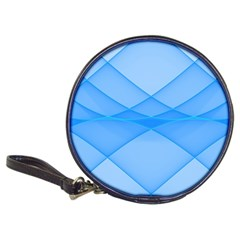 Background Light Glow Blue Classic 20 Cd Wallets