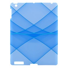 Background Light Glow Blue Apple Ipad 3/4 Hardshell Case