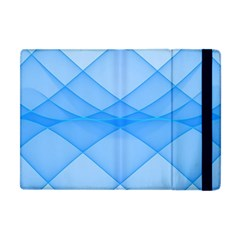 Background Light Glow Blue Apple Ipad Mini Flip Case