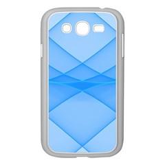 Background Light Glow Blue Samsung Galaxy Grand Duos I9082 Case (white)