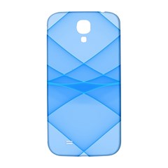 Background Light Glow Blue Samsung Galaxy S4 I9500/i9505  Hardshell Back Case