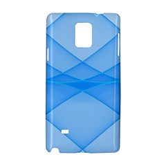 Background Light Glow Blue Samsung Galaxy Note 4 Hardshell Case