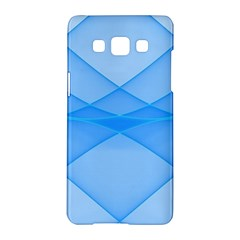 Background Light Glow Blue Samsung Galaxy A5 Hardshell Case