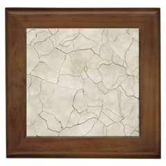 Background Wall Marble Cracks Framed Tiles