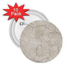 Background Wall Marble Cracks 2 25  Buttons (10 Pack)