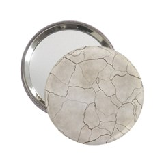 Background Wall Marble Cracks 2 25  Handbag Mirrors