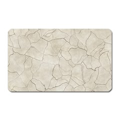 Background Wall Marble Cracks Magnet (rectangular)