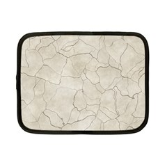 Background Wall Marble Cracks Netbook Case (small)