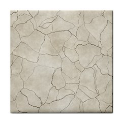 Background Wall Marble Cracks Face Towel