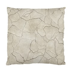 Background Wall Marble Cracks Standard Cushion Case (two Sides)