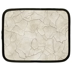 Background Wall Marble Cracks Netbook Case (xl)