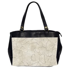 Background Wall Marble Cracks Office Handbags (2 Sides)