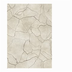 Background Wall Marble Cracks Small Garden Flag (two Sides)