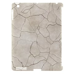 Background Wall Marble Cracks Apple Ipad 3/4 Hardshell Case (compatible With Smart Cover)
