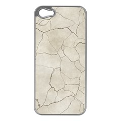 Background Wall Marble Cracks Apple Iphone 5 Case (silver)