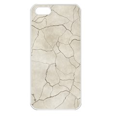 Background Wall Marble Cracks Apple Iphone 5 Seamless Case (white)