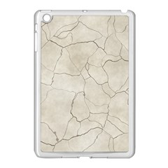 Background Wall Marble Cracks Apple Ipad Mini Case (white)