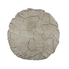 Background Wall Marble Cracks Standard 15  Premium Round Cushions