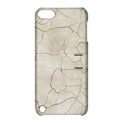 Background Wall Marble Cracks Apple Ipod Touch 5 Hardshell Case With Stand