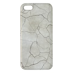Background Wall Marble Cracks Iphone 5s/ Se Premium Hardshell Case