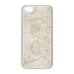 Background Wall Marble Cracks Apple Iphone 5c Seamless Case (white)