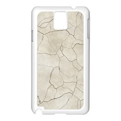Background Wall Marble Cracks Samsung Galaxy Note 3 N9005 Case (white)