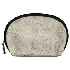 Background Wall Marble Cracks Accessory Pouches (large)