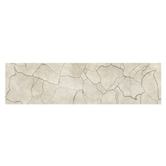 Background Wall Marble Cracks Satin Scarf (oblong)