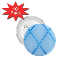 Background Light Glow Blue 1 75  Buttons (10 Pack)