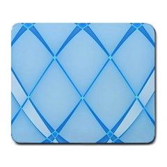 Background Light Glow Blue Large Mousepads by Nexatart